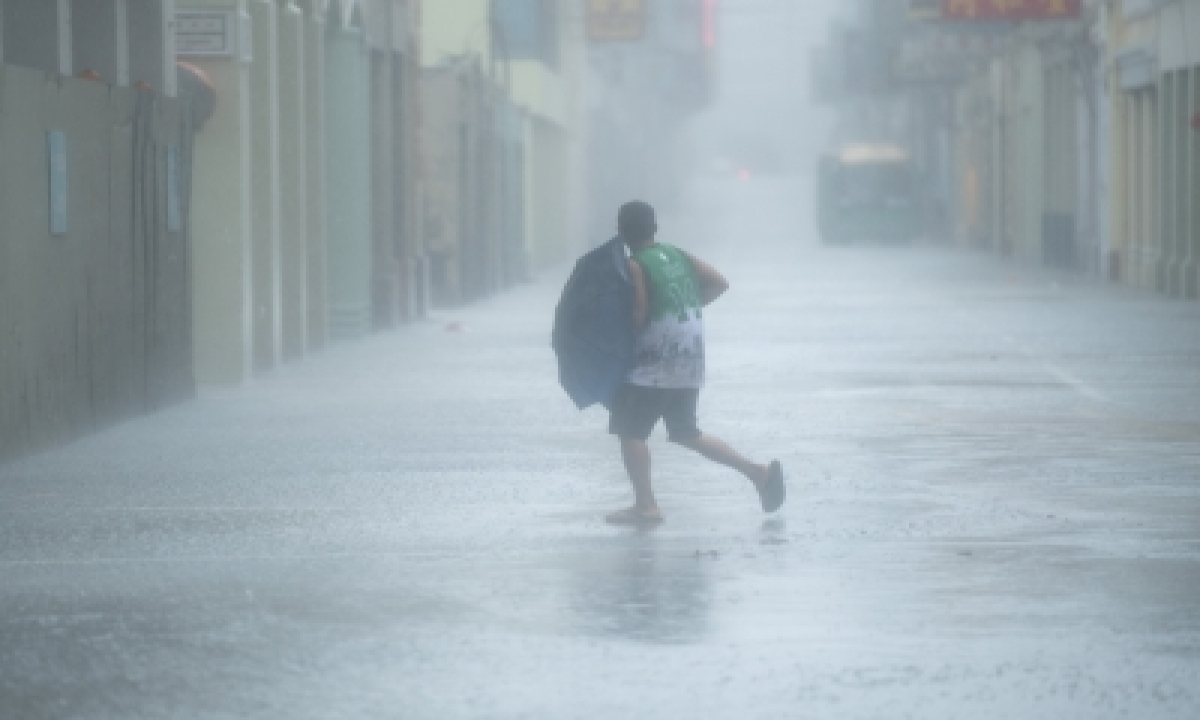 China On Alert For Typhoon, Geological Disasters – International,environment/wildlife-TeluguStop.com