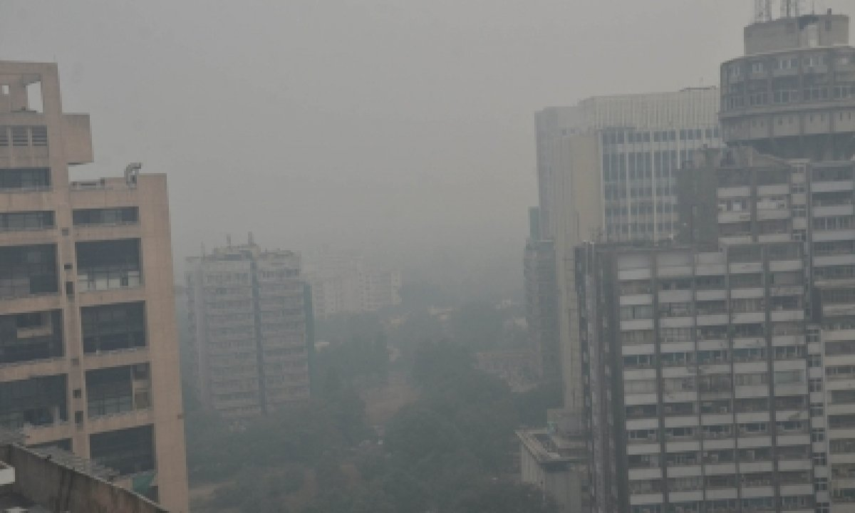 TeluguStop.com - Chloride-rich Particles Linked To Visibility Reduction Over Delhi