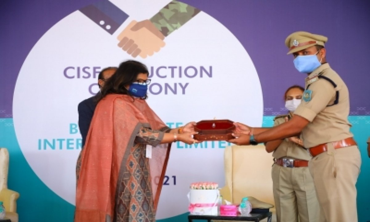 CISF Takes Over Security Of Bharat Biotech-Business,Health/Medicine,Defence/Security-Telugu Tollywood Photo Image-TeluguStop.com