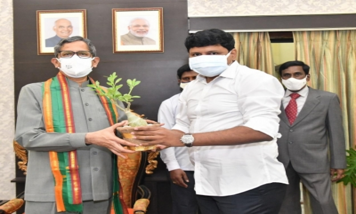 CJI Participates In Green India Programme In Hyderabad-Environment/Wildlife News-Telugu Tollywood Photo Image-TeluguStop.com