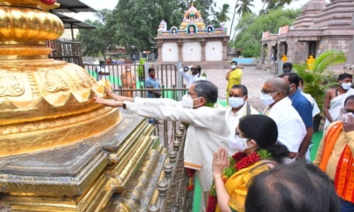 Cji Visits Srisailam Bhramaramba Mallikarjuna Temple-TeluguStop.com