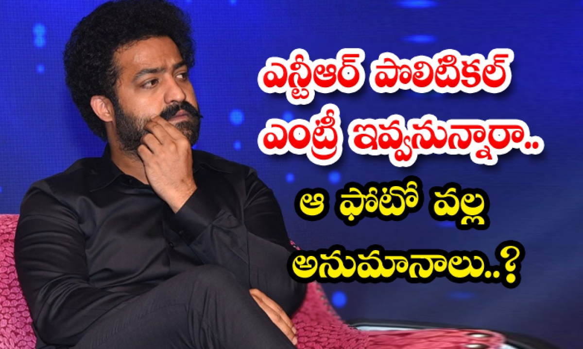 Gossips Goes Viral About Ntr Political Entry-TeluguStop.com
