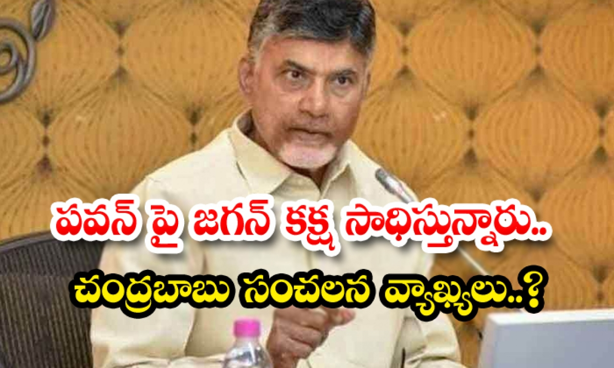 Chandrababu Naidu Sensational Comments About Cm Jagan-TeluguStop.com