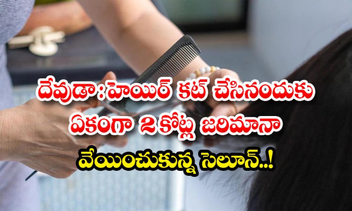 Consumer Court Fines Two Crore Rupees For Cutting Models Hair Wrongly-దేవుడా: హెయిర్ కట్ చేసినందుకు ఏకంగా 2 కోట్ల జరిమానా వేయించుకున్న సెలూన్..-General-Telugu-Telugu Tollywood Photo Image-TeluguStop.com