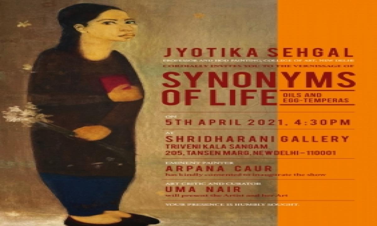 Conversating Paintings Of Jyotika Sehgal-TeluguStop.com