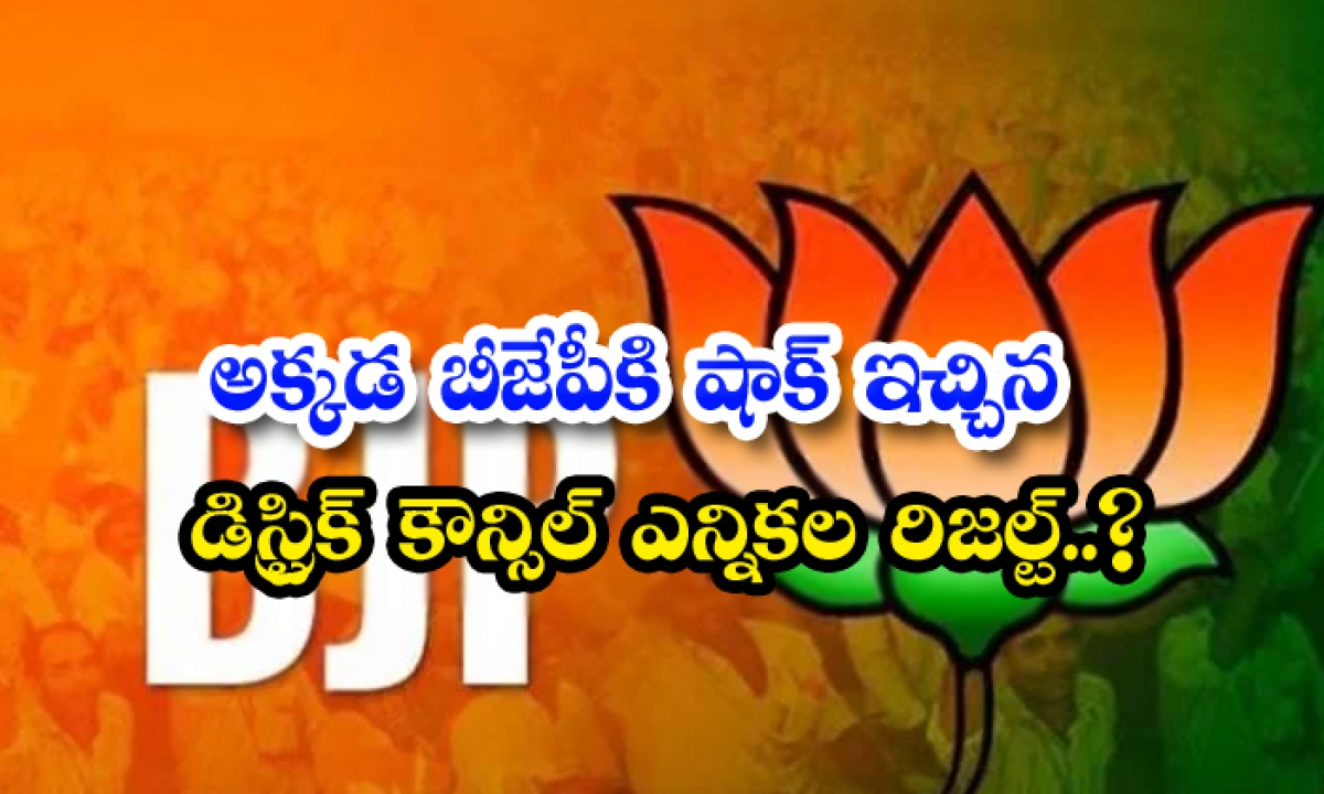 Ruling Bjp Handed Defeat In Tripura Tribal Council Polls-TeluguStop.com
