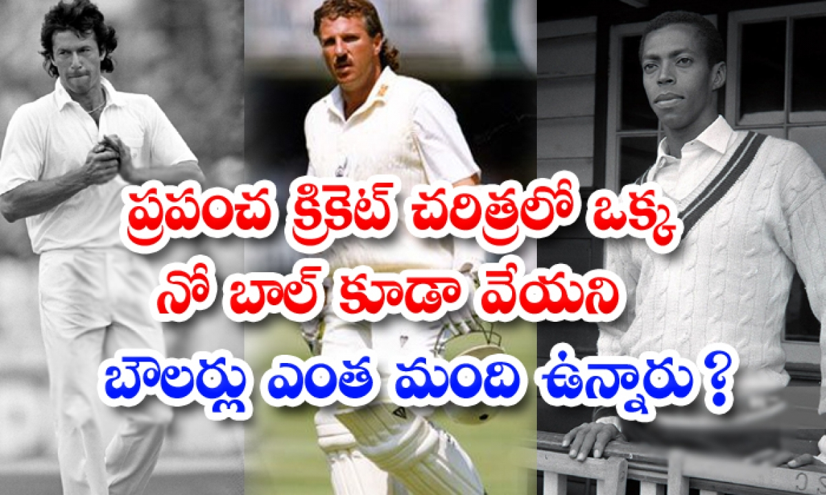 Cricketers Who Havent Throw Singe No Ball In Their Entire Career-TeluguStop.com
