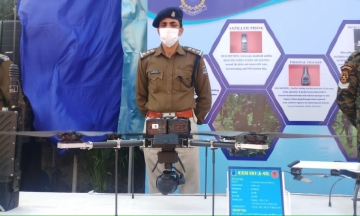 Crpf To Get Micro Uav A-410 By May For Maoist Operation-TeluguStop.com
