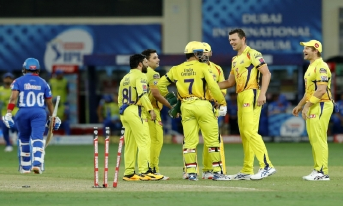 Csk Show They Are In High Spirits Despite Loss To Dc-TeluguStop.com