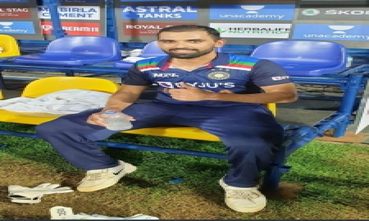 Dad Not Surprised At Chahar The Batsman's Success-TeluguStop.com