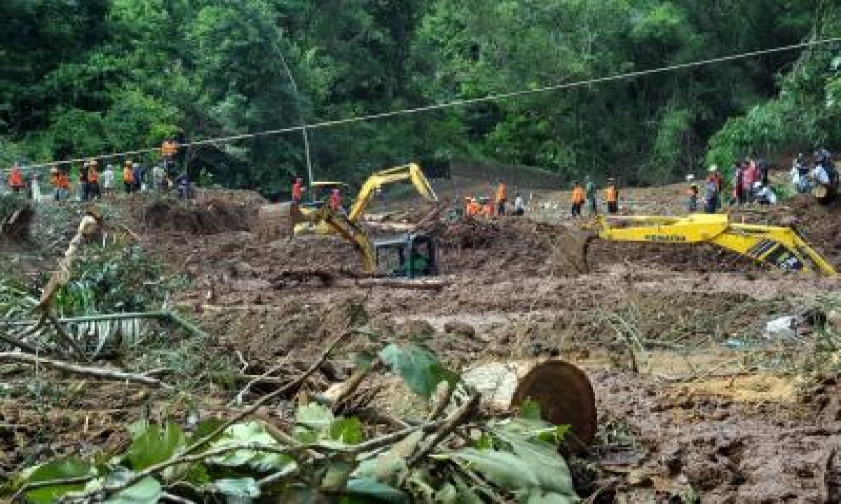 TeluguStop.com - Death Toll In Indonesian Landslides Reach 31