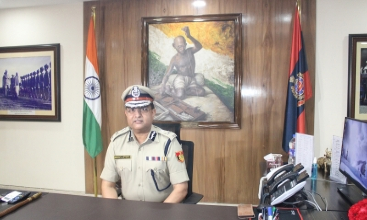 Delhi Police 'determined' To Take Action Against Organised Crime: Commissioner Asthana-TeluguStop.com