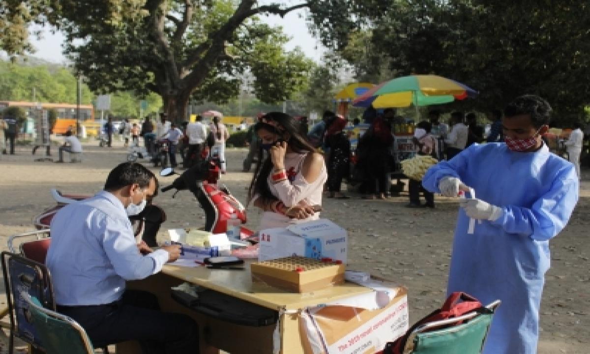 Delhi Sees 5,506 New Covid Cases, Positivity Rate Crosses 6%-TeluguStop.com