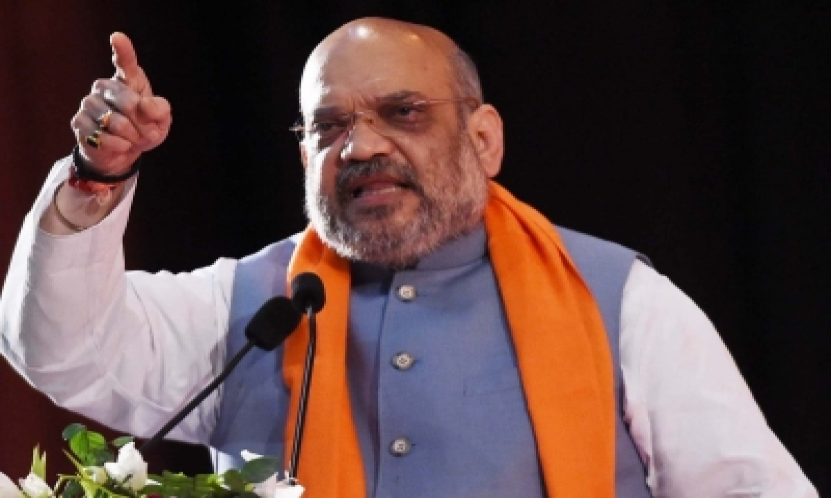Dmk Has Scant Respect For Women: Amit Shah-TeluguStop.com