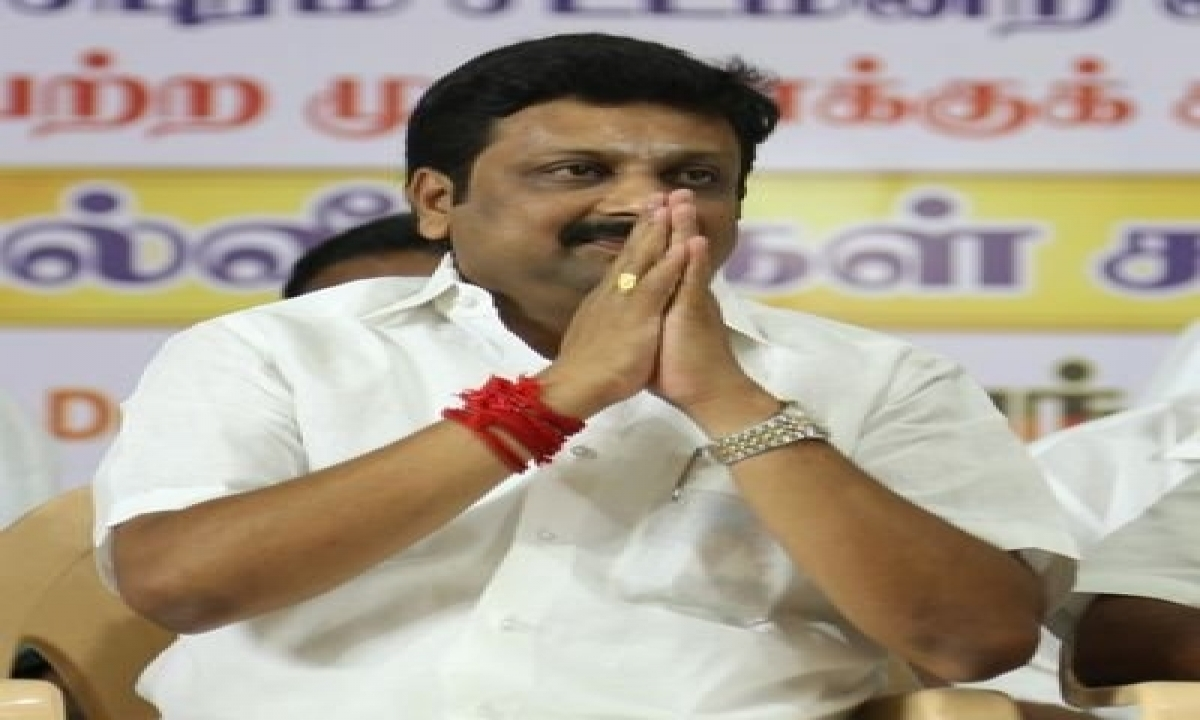 Dmk Leaders, Cadre Unhappy Over Rajeshkumar's Candidature To Rs-TeluguStop.com