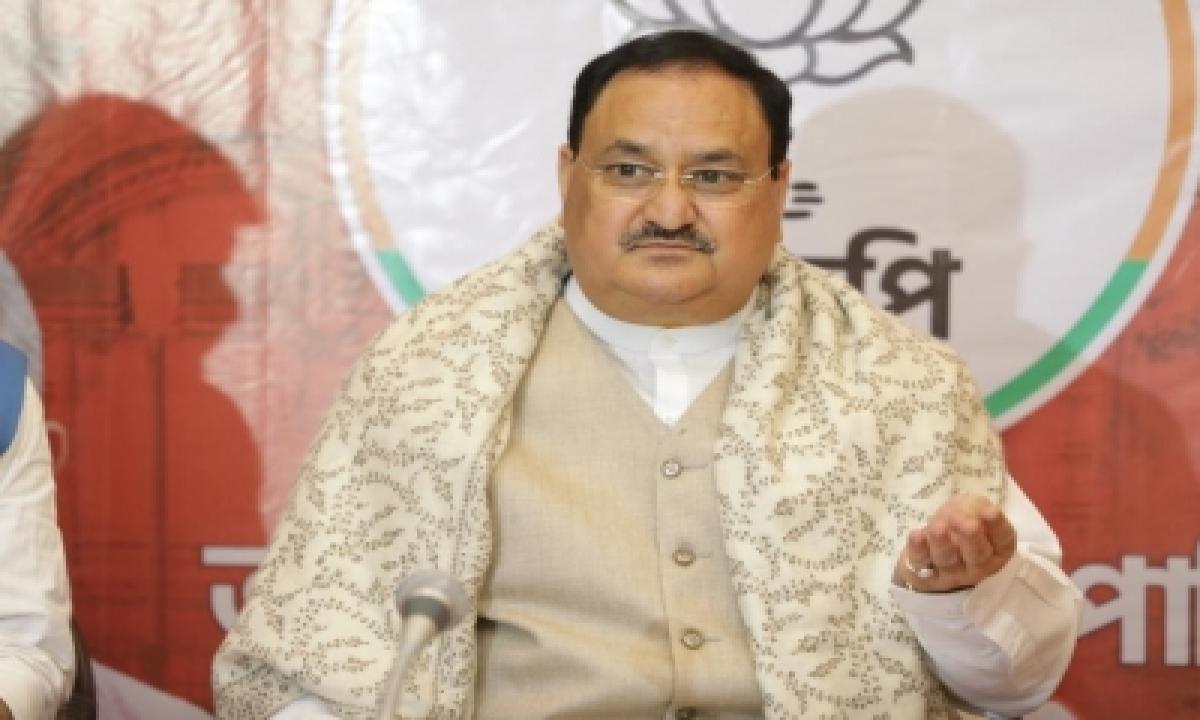 Dmk Stands For 'dynasty, Money, Katta Panchayat': Jp Nadda-TeluguStop.com