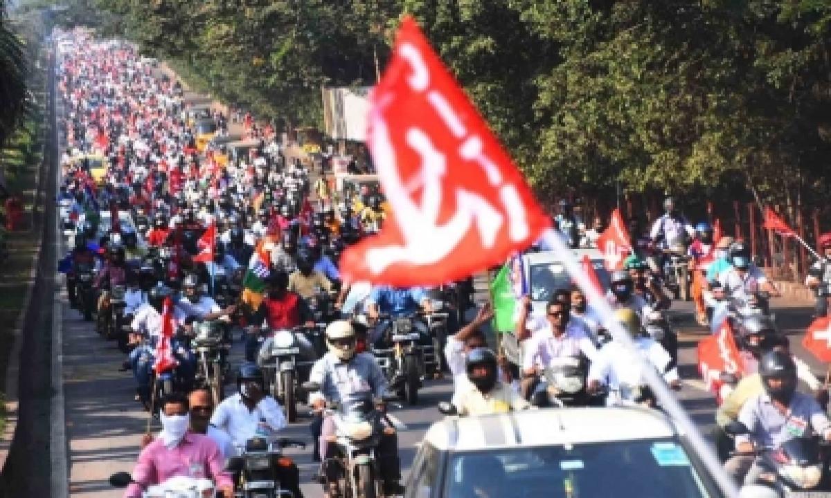 Employees Intensify Stir Against Vizag Steel Plant Privatisation-TeluguStop.com