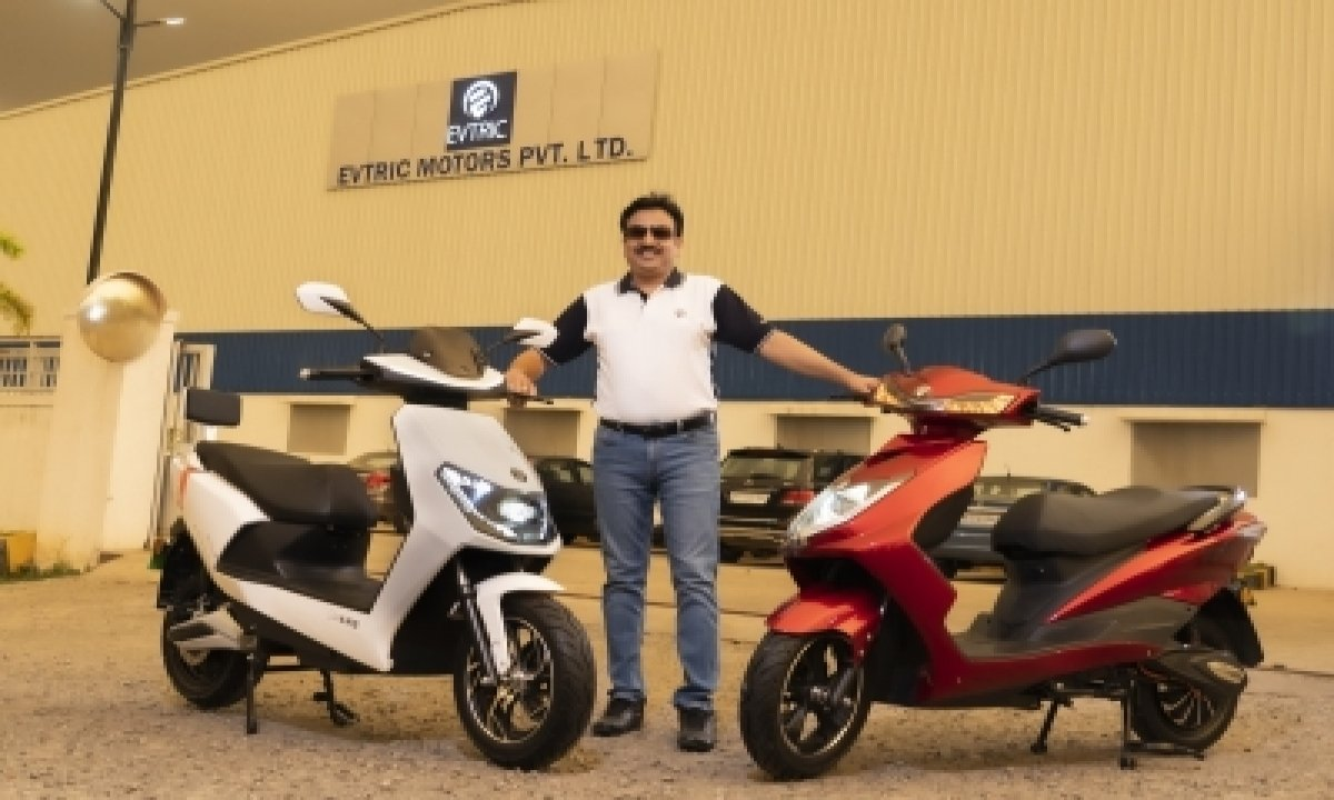 Evtric Motors Launches 2 Slow-speed Electric Scooters In India-TeluguStop.com