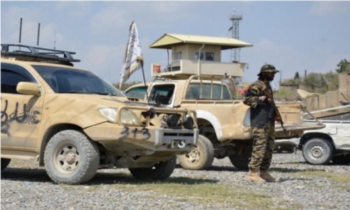 Explosions In Isis-k Heartland Target Taliban Vehicles-TeluguStop.com