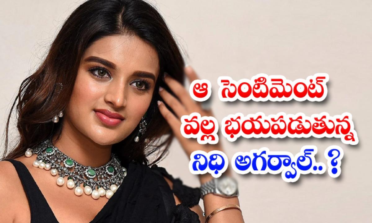Actress Nidhi Agarwal Fear About This Sentiment-ఆ సెంటిమెంట్ వల్ల భయపడుతున్న నిధి అగర్వాల్..-Latest News - Telugu-Telugu Tollywood Photo Image-TeluguStop.com