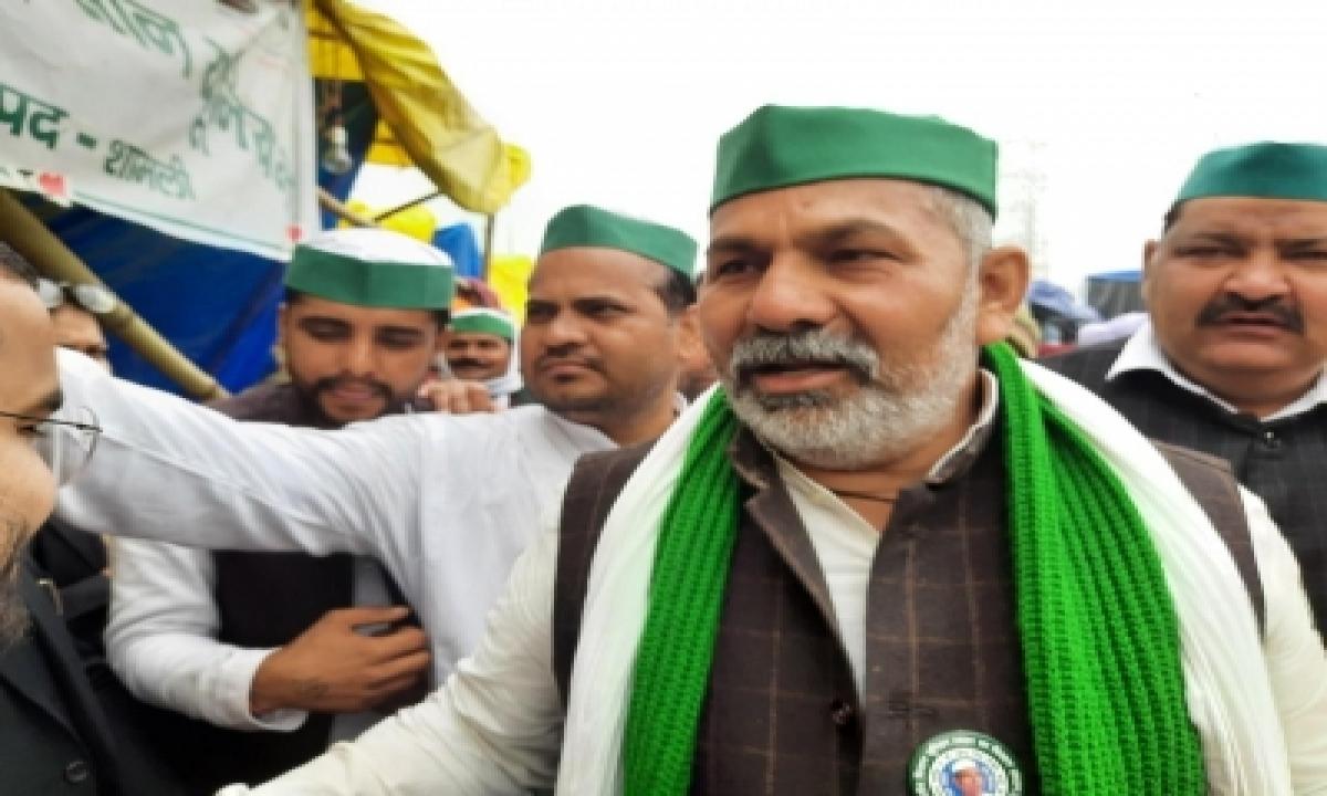 Fir Against Rakesh Tikait, Other Farmers Leaders For Jan 26 Violence-TeluguStop.com