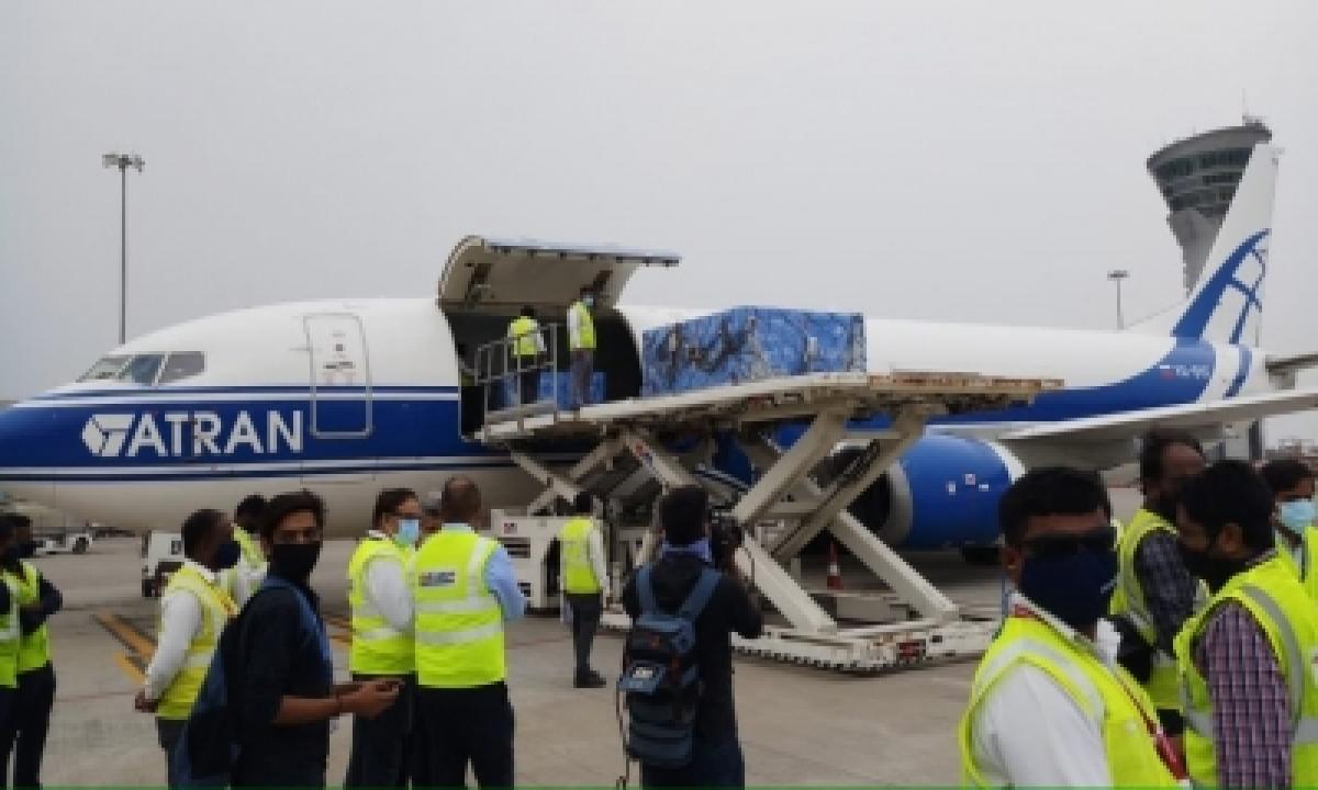 First Consignment Of Sputnik V Arrives In Hyderabad (ld)-TeluguStop.com