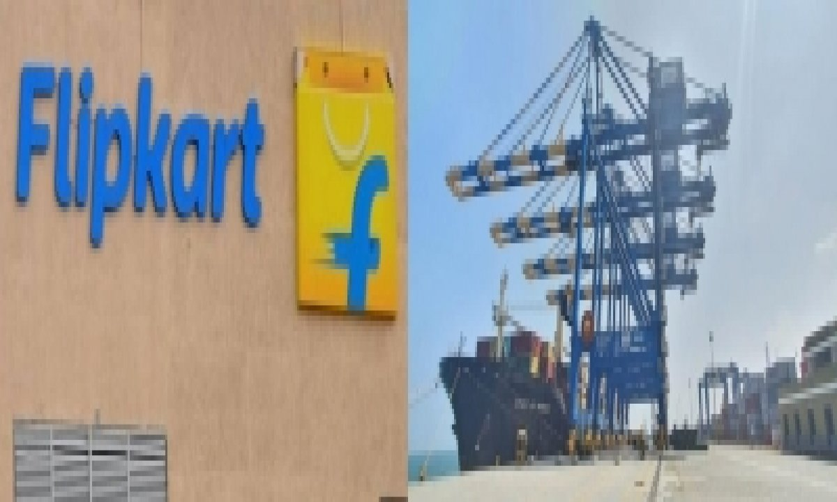 Flipkart Enters Into Strategic Partnership With Adani Group-TeluguStop.com