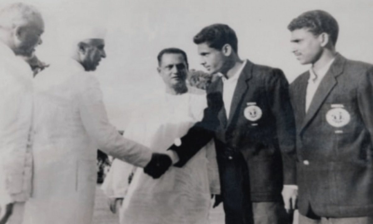 Football Olympian Ahmed Hussain No More-TeluguStop.com