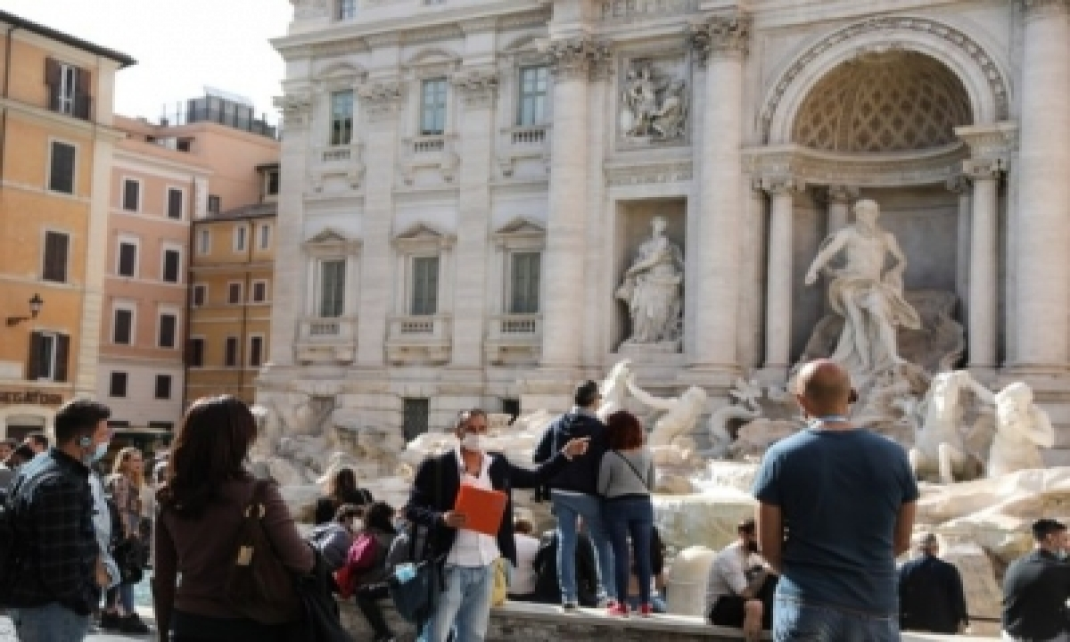 Foreign Tourists' Overnight Stays In Italy Down Nearly 55% In 2020-TeluguStop.com