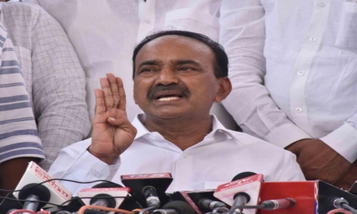 Former Telangana Minister Eatala Rajender Joins Bjp-TeluguStop.com