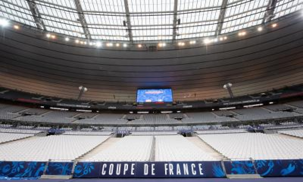France Turns National Stadium Into Vax Centre-TeluguStop.com
