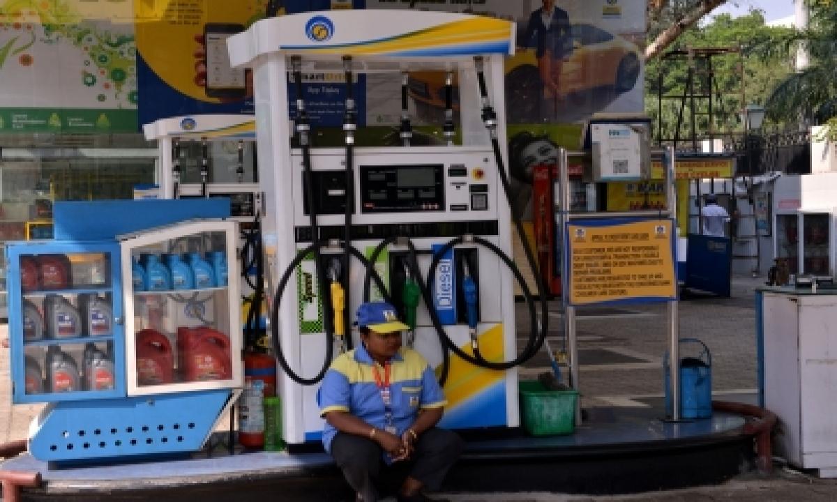 Fuel Price Hiked Again; Petrol Nearing Century Mark Across Country-TeluguStop.com