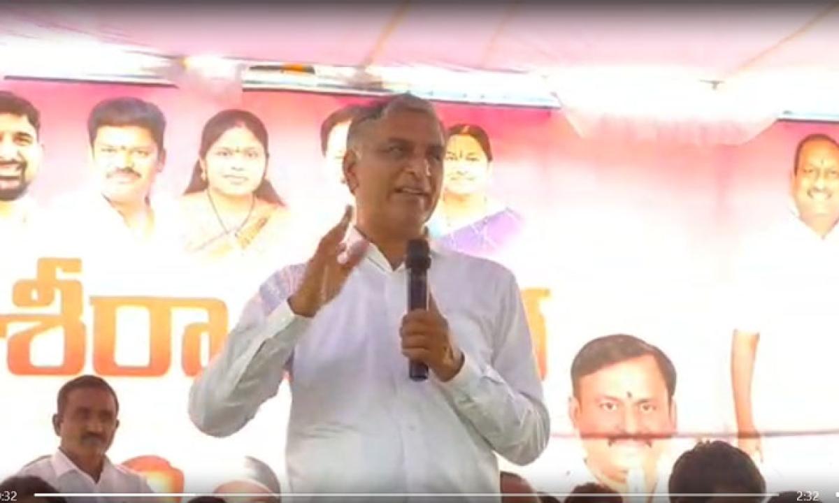 Harish Rao Challenges Ethela Rajender-ఈటెల రాజేందర్ కు సవాల్ విసిరిన హరీష్ రావు…-Latest News - Telugu-Telugu Tollywood Photo Image-TeluguStop.com