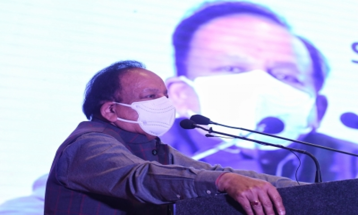 Harsh Vardhan Assures Enhancing Telangana's Quota Of Oxygen, Vaccines-TeluguStop.com