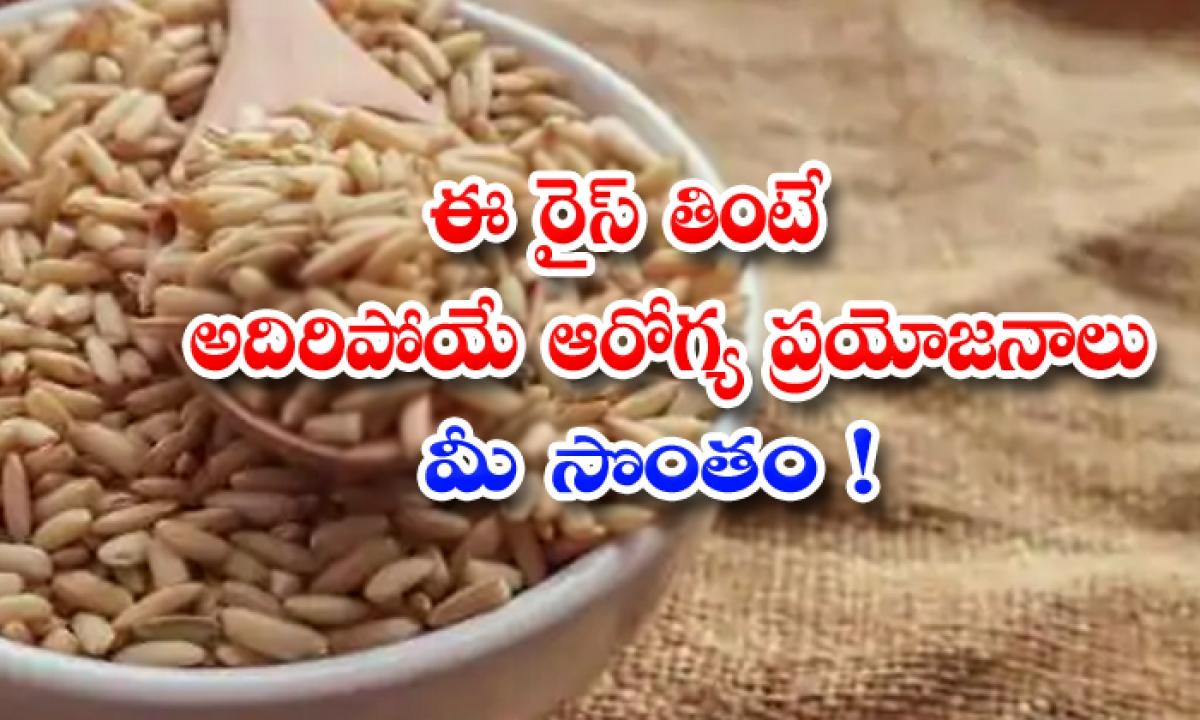 Wonderful Health Benefits Of Brown Rice-ఈ రైస్ తింటే అదిరిపోయే ఆరోగ్య ప్రయోజనాలు మీ సొంతం-Latest News - Telugu-Telugu Tollywood Photo Image-TeluguStop.com