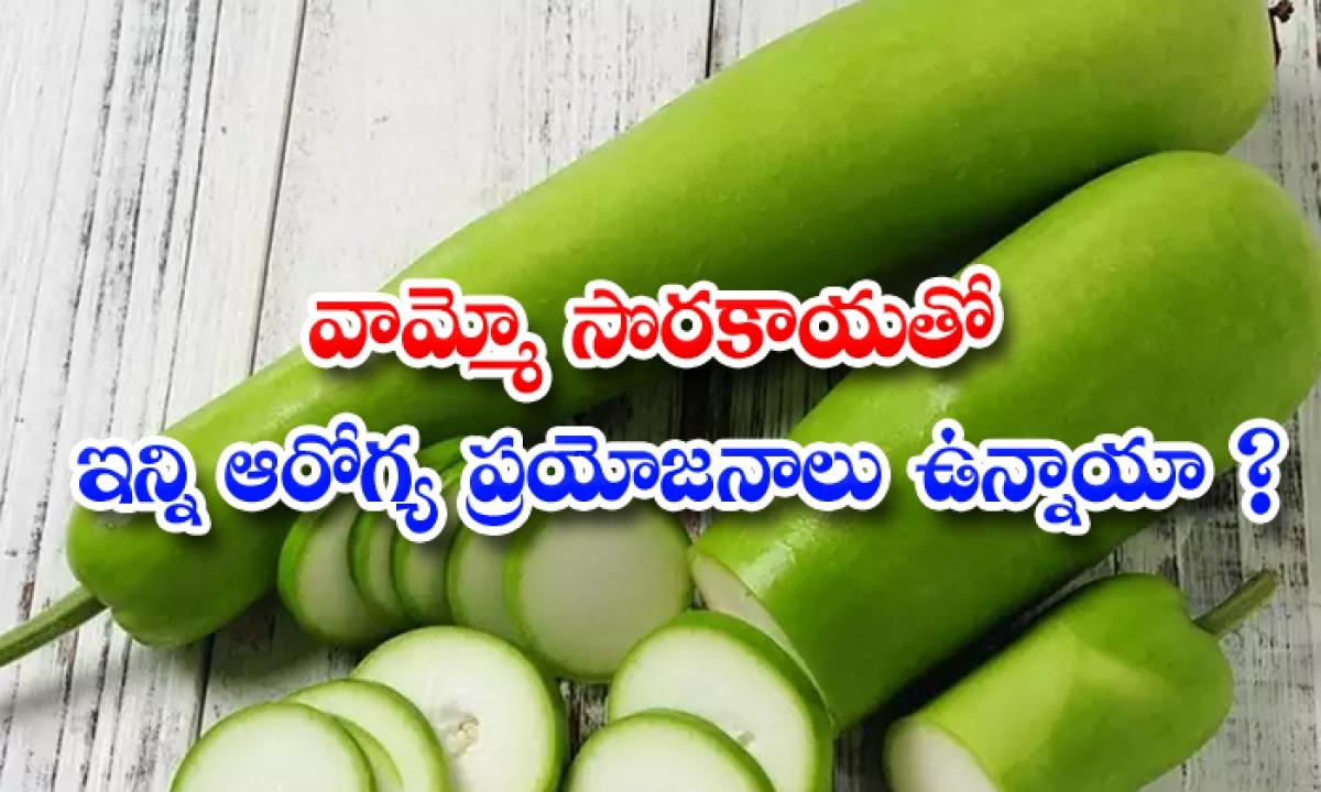 Health Benefits Of Bottle Gourds-TeluguStop.com