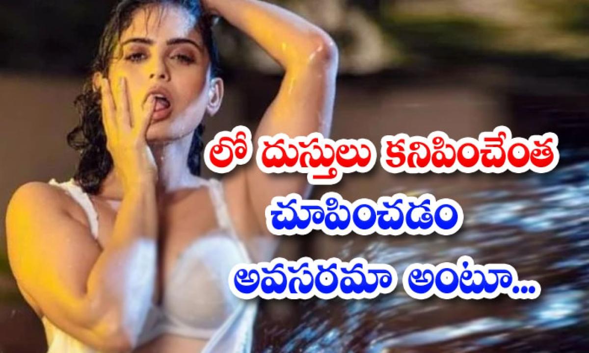 Telugu Actress Naina Ganguly Trolling Social Media For Heavy Exposing-లో దుస్తులు కనిపించేంత చూపించడం అవసరమా అంటూ…-Latest News - Telugu-Telugu Tollywood Photo Image-TeluguStop.com
