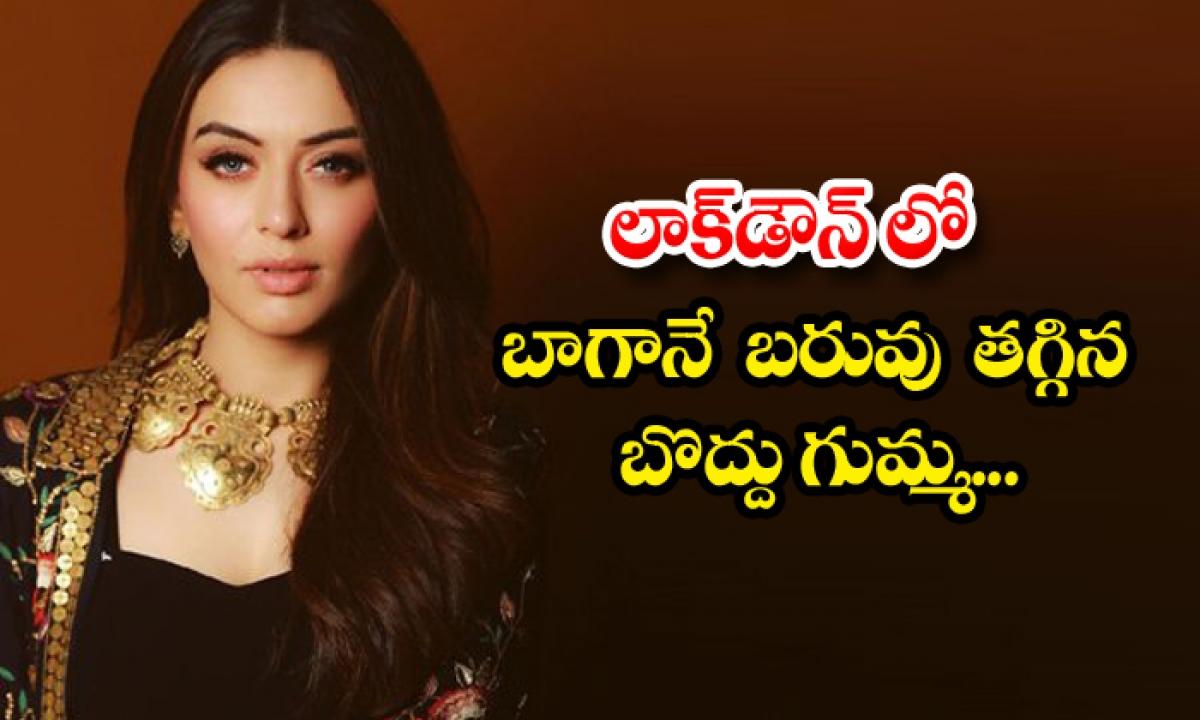 Telugu Heroine Hansika Motwani Weight Loss For Movie Offers-లాక్ డౌన్ లో బాగానే బరువు తగ్గిన బొద్దు గుమ్మ….-Latest News - Telugu-Telugu Tollywood Photo Image-TeluguStop.com