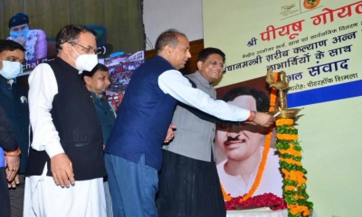Himachal Made Great Progress In 50 Years Of Statehood: Goyal-Latest News English-Telugu Tollywood Photo Image-TeluguStop.com