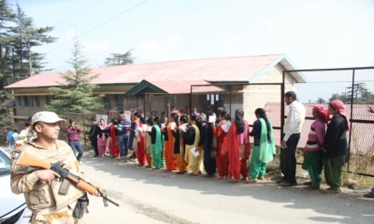 TeluguStop.com - Himachal Sees 77% Voting In Phase 1 Of Panchayat Polls