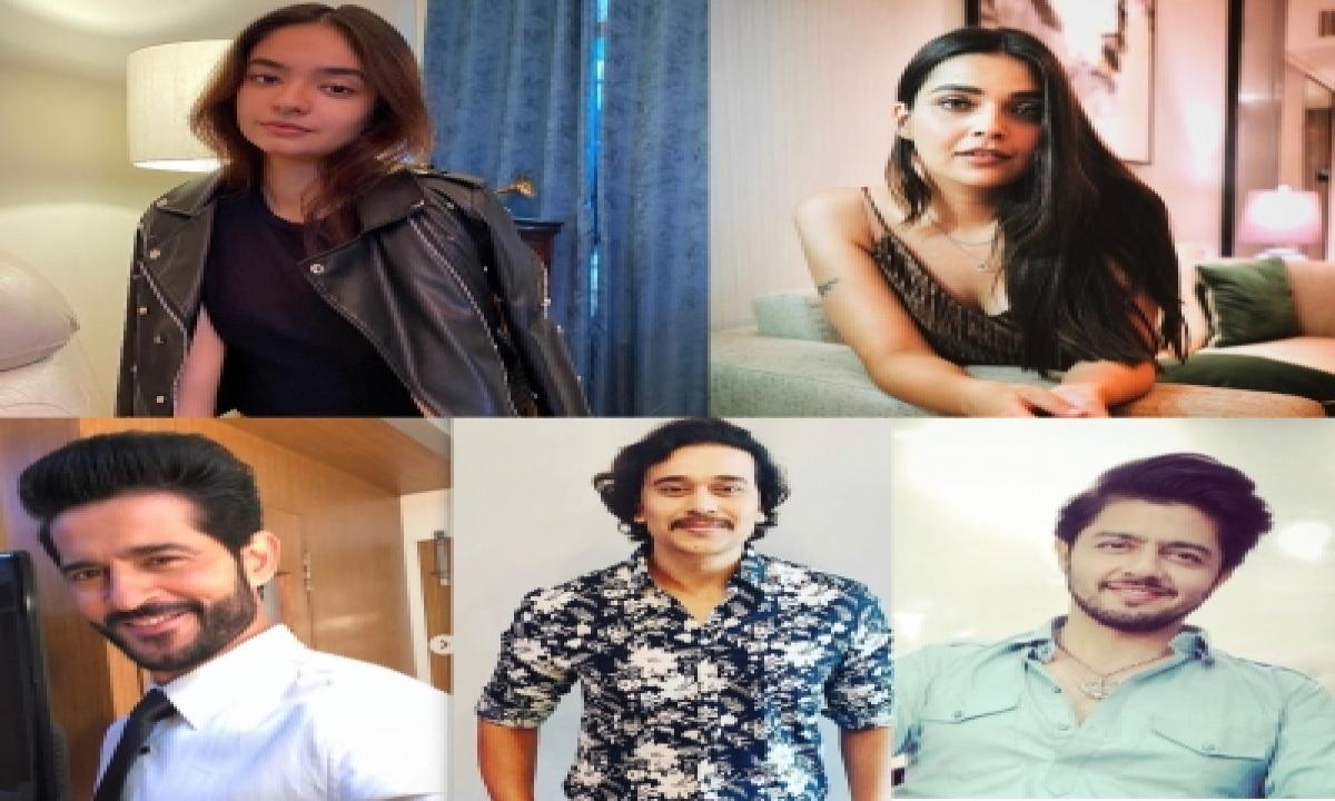 Hiten Tejwani, Anushka Sen To Star In Web-show 'swaanng'-TeluguStop.com