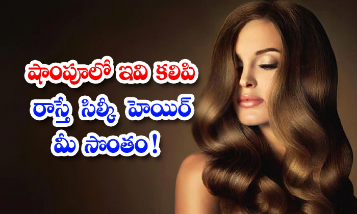 Home Remedies For How To Get Silky Hair-TeluguStop.com