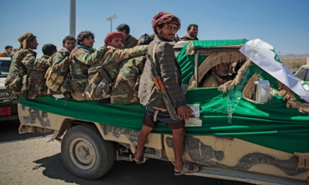 Houthis Launch Bomb-laden Drone Attack At Saudi Base-TeluguStop.com