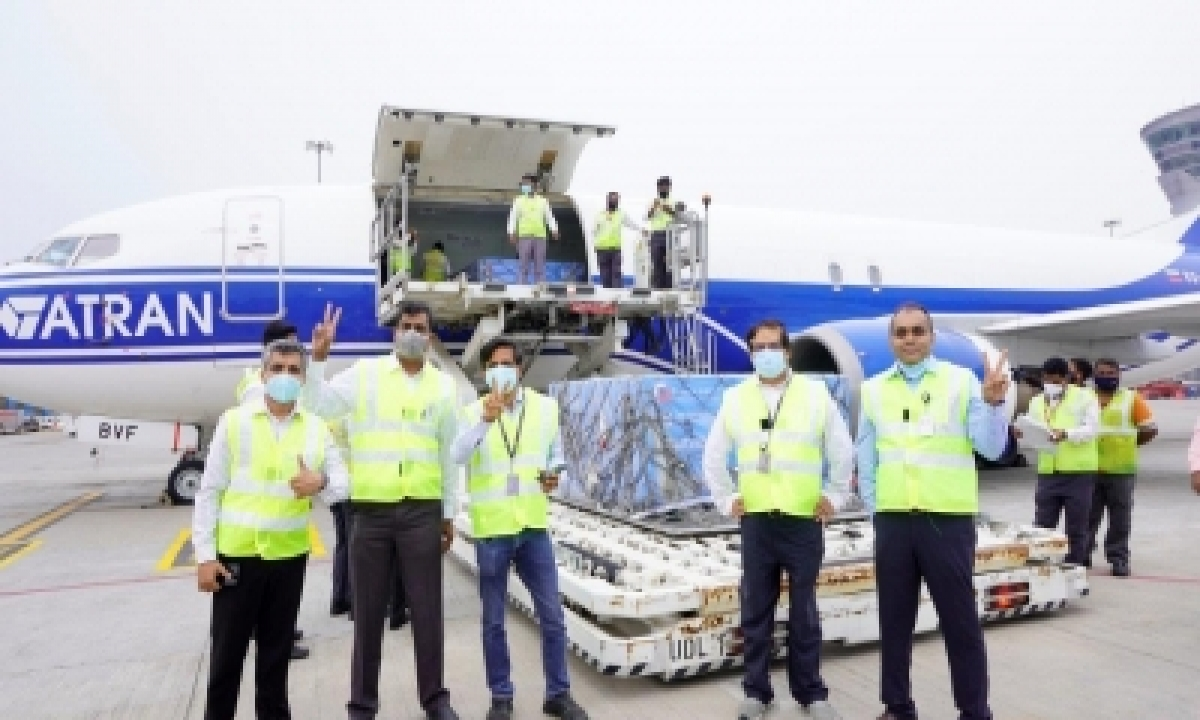 Hyderabad Air Cargo, A Crucial Covid Vaccine Handling Centre-TeluguStop.com