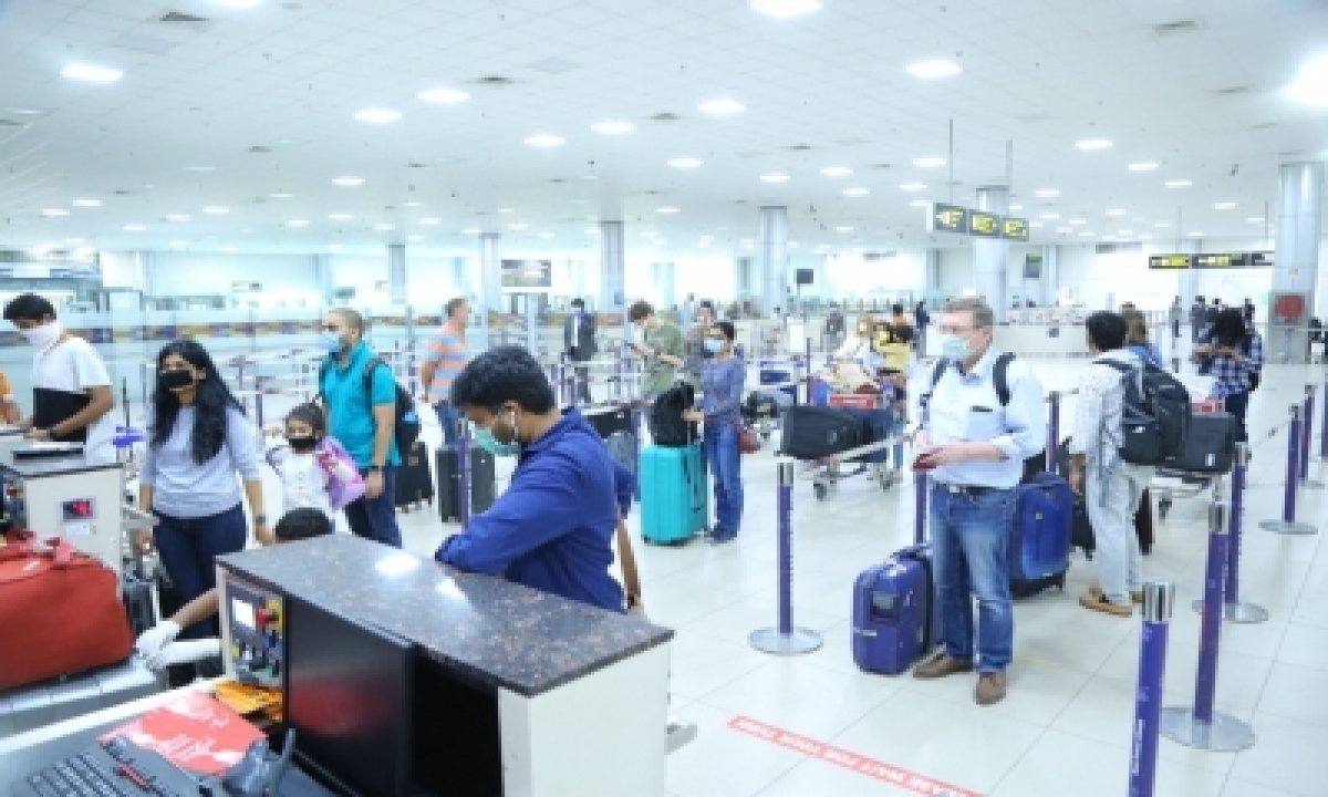 Hyderabad Airport Ensures Strict Adherence To Covid Protocols-TeluguStop.com