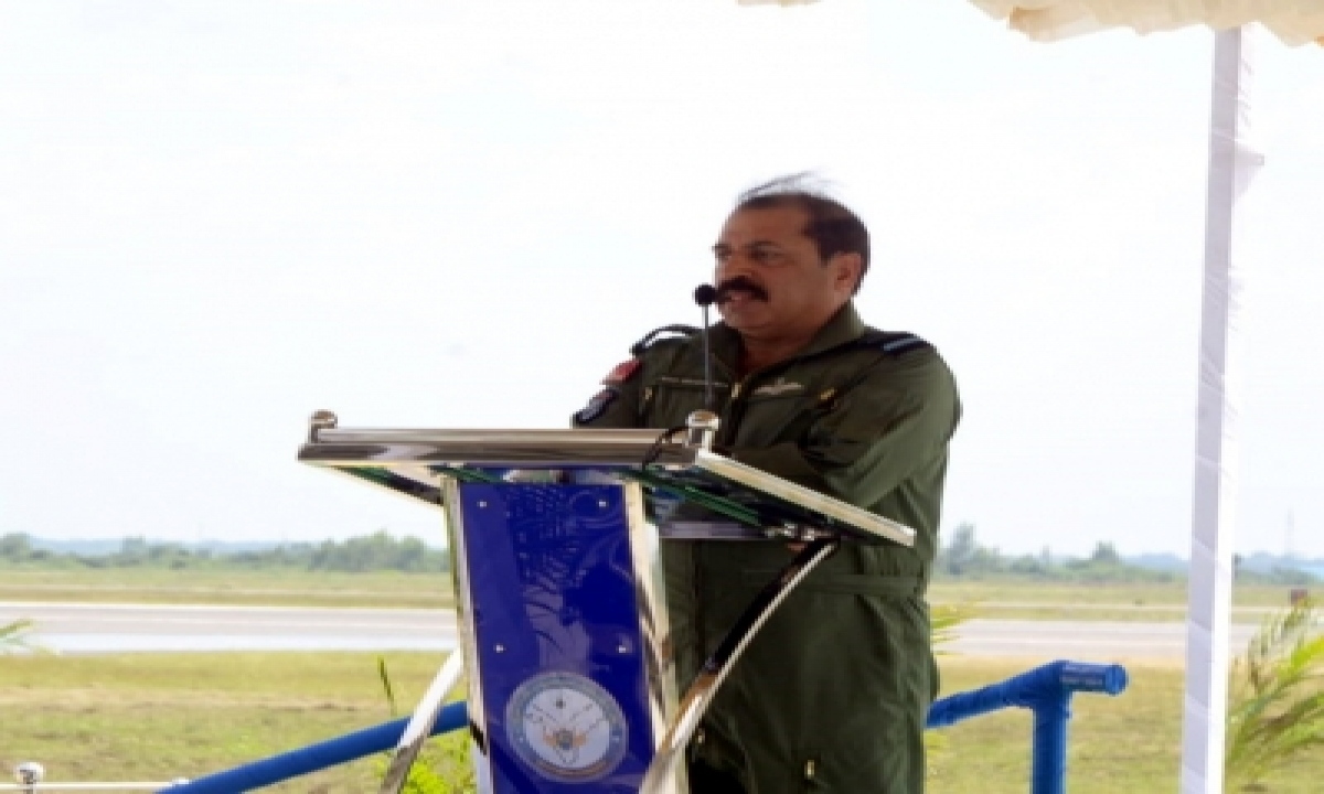 Iaf To Use Ai-aided Tech For Threat Monitoring In Captive Networks: Chief-TeluguStop.com
