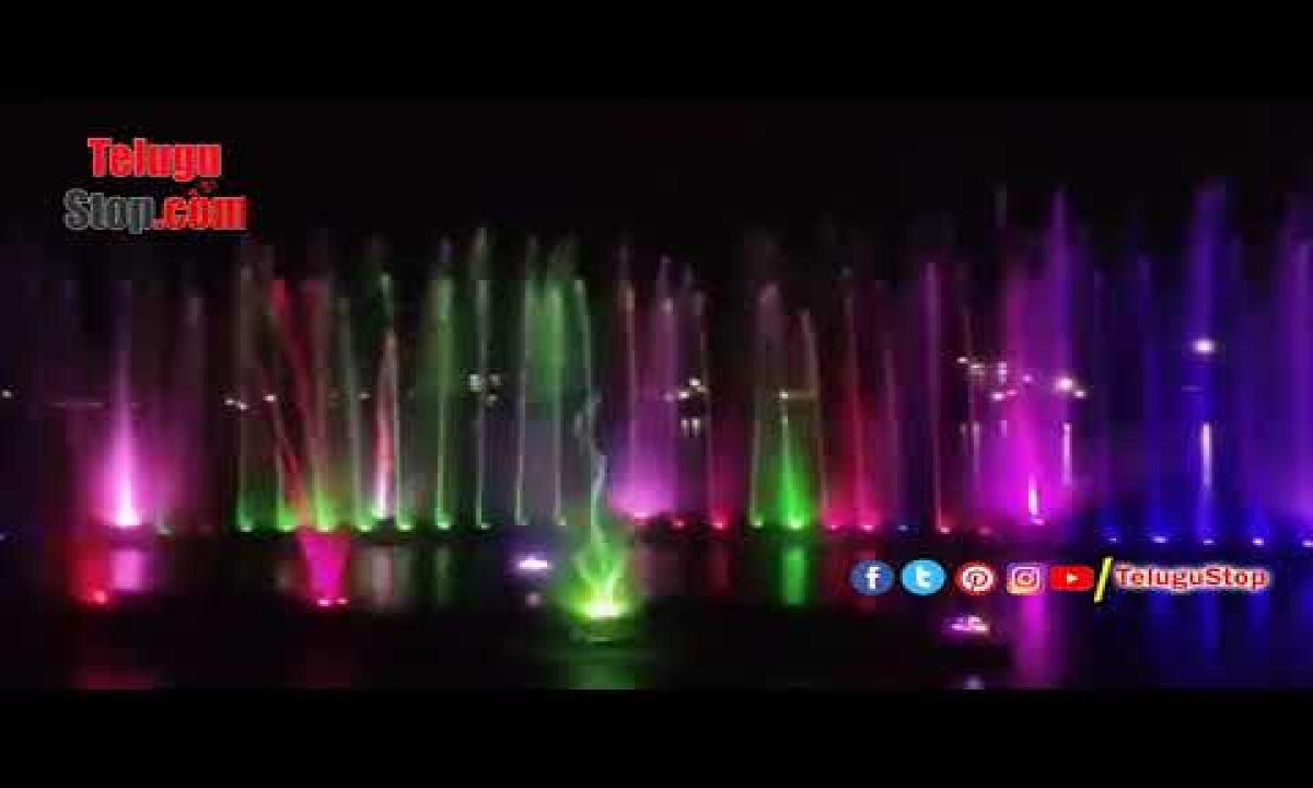 Musical Fountain Inaugurated At Lakaram Tank Khammam | Khammam-TeluguStop.com