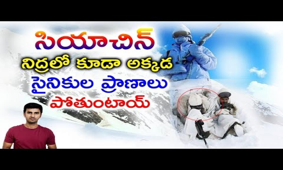 Interesting Facts About Siachen Glacier   Telugu Facts-TeluguStop.com
