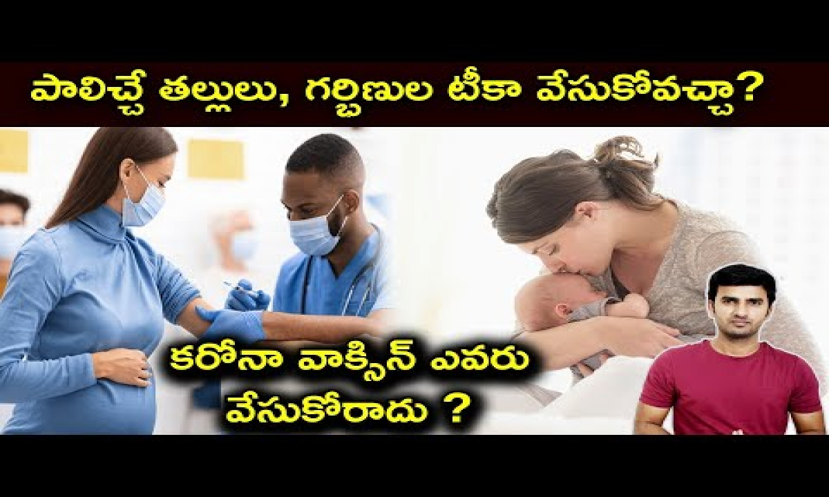 Who Can Take The Vaccine Explained In Telugu | Telugu Facts |-TeluguStop.com