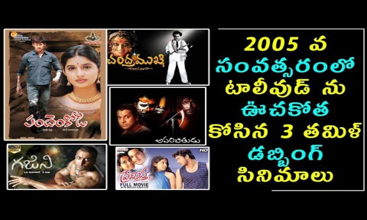 Tamil Dubbing Movie Top Hits In 2005   టాలీవుడ్ ను ఊచకోత కోసిన 3 తమిళ్ డబ్బింగ్ సినిమాలు  movie News-TeluguStop.com